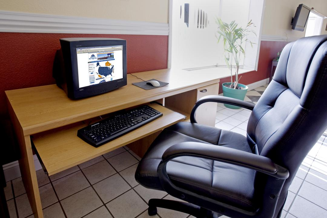 Business Center with computer desk