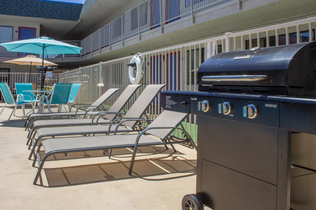 Outdoor Pool and BBQ Area