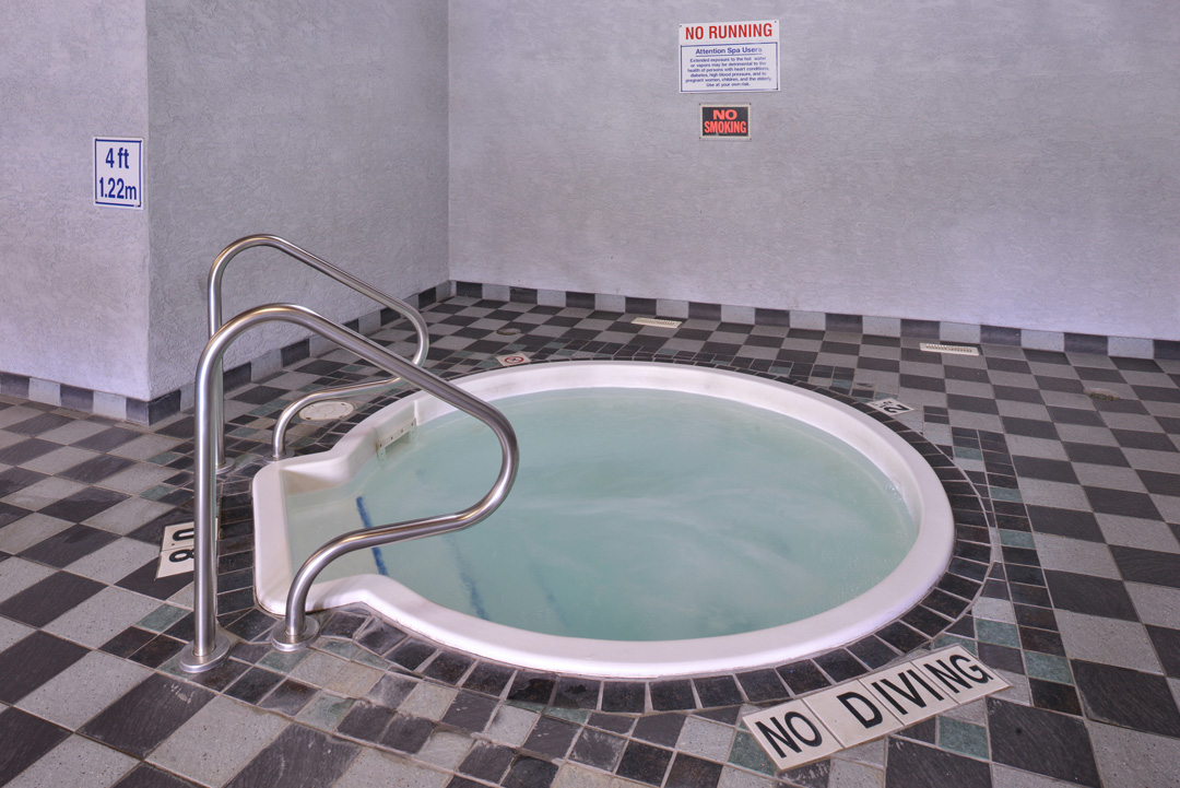 Indoor Jetted tub