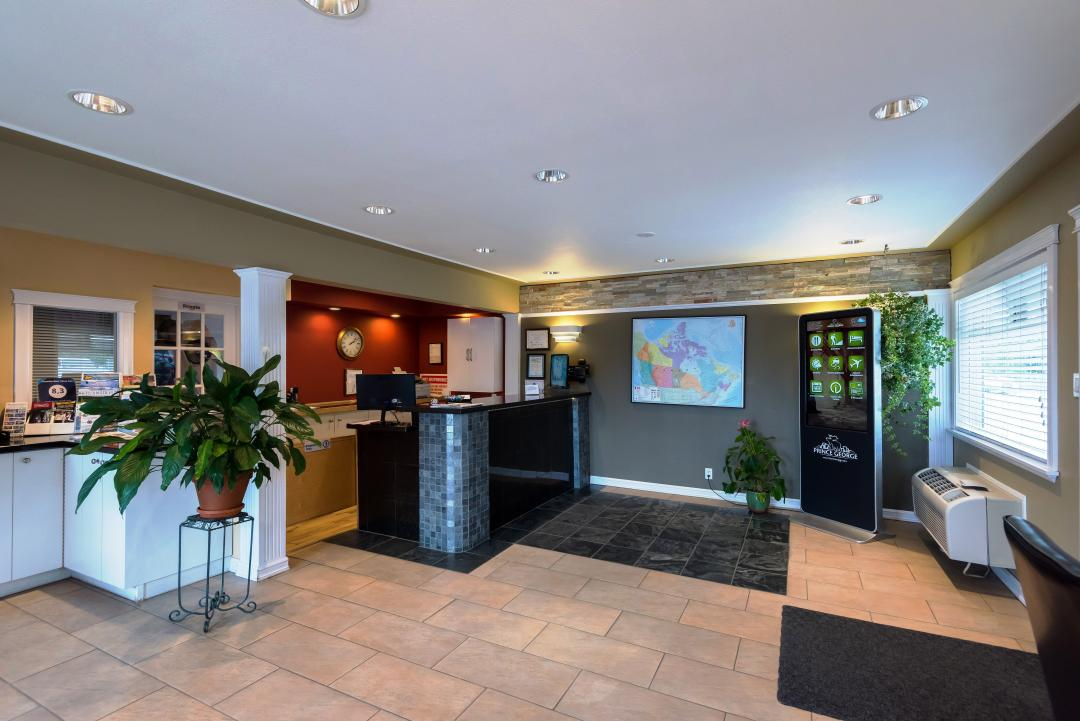 Spacious Lobby with Touch Screen Guest Technology