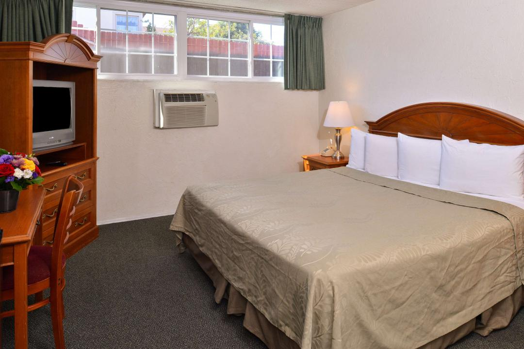 One King Bed Guest Room 2