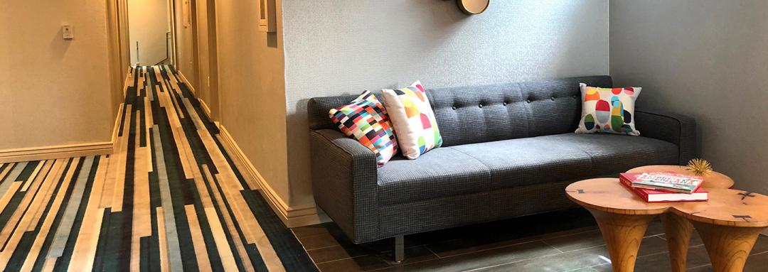 Common Seating area with sofa