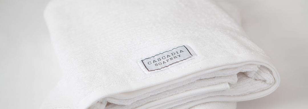 Cascadia Soapery Towels