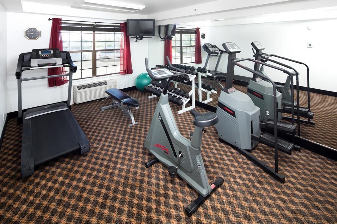 Spacious Guest Fitness Center