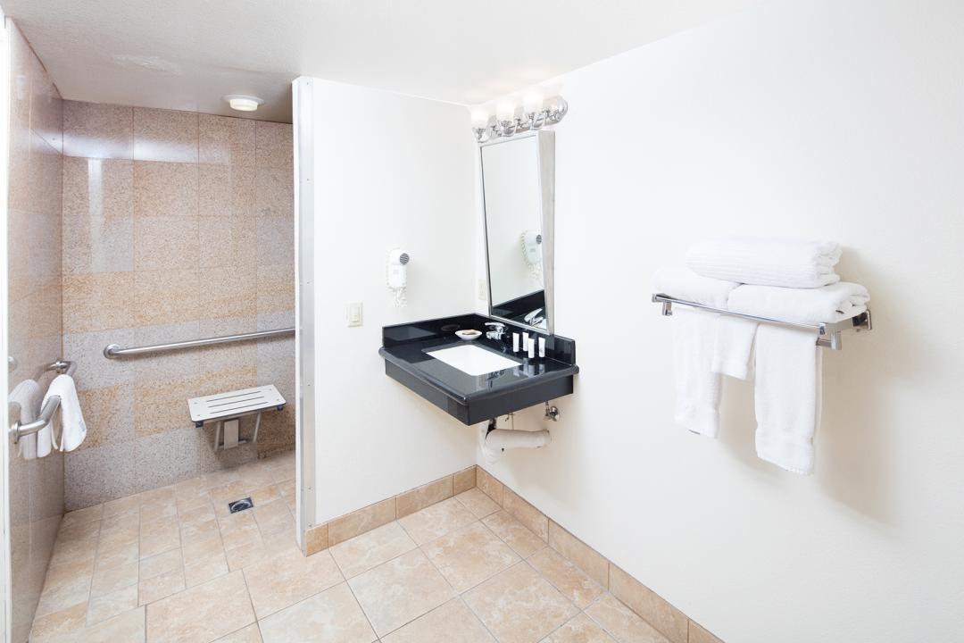 Perris Hotel ADA Bathroom