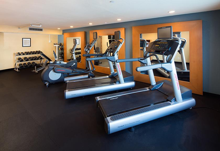 Fitness Center at Red Lion Hotel Eureka