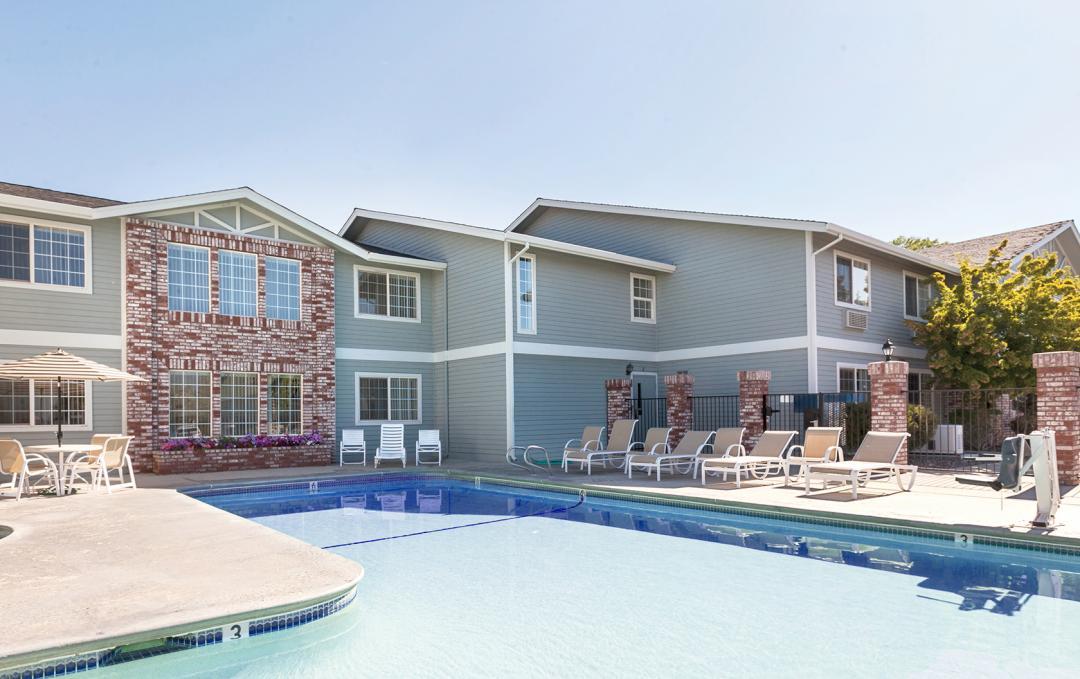 A Susanville Hotel Pool