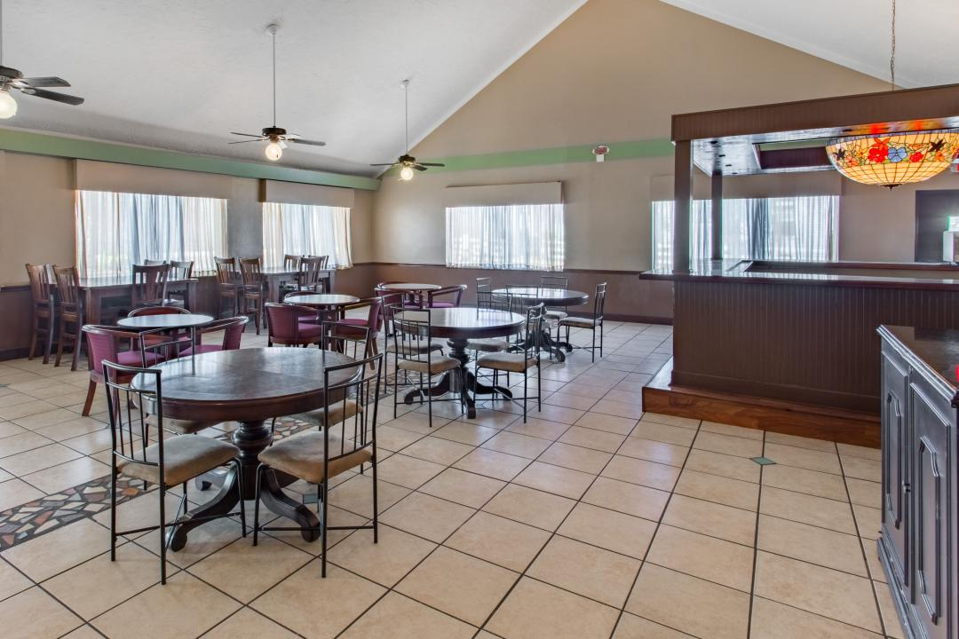 Dining area with ample seating