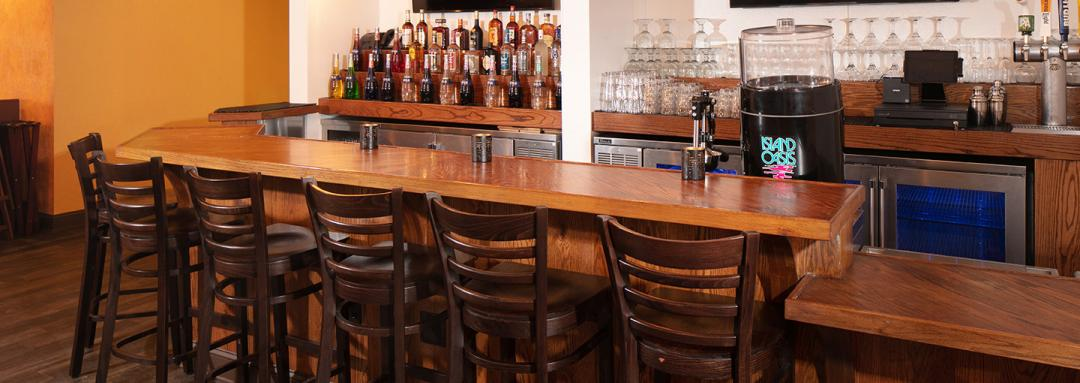 Hotel Bar with barstools