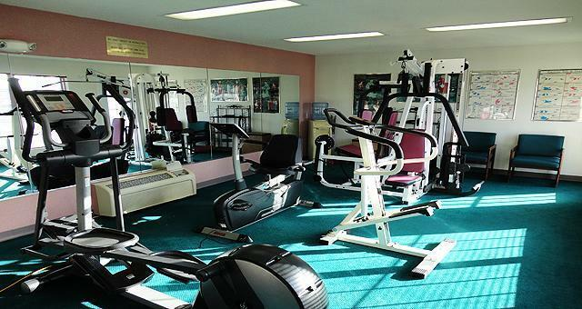 Fitness Facility and Hotel gym