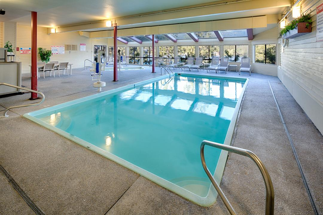 Red Lion Hotel Templin's Indoor Pool & Hot Tub