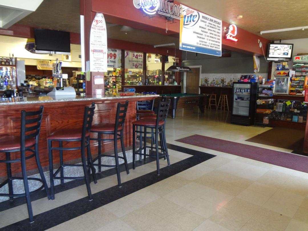 Sports Bar with ample seating