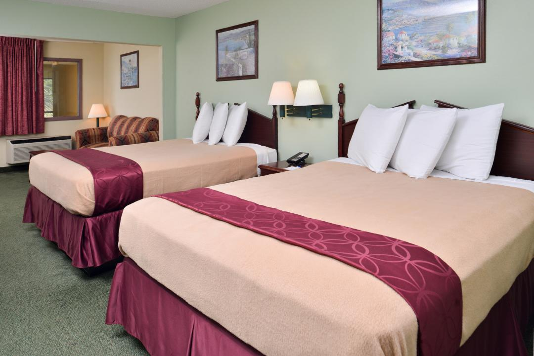 Deluxe Suite with two beds