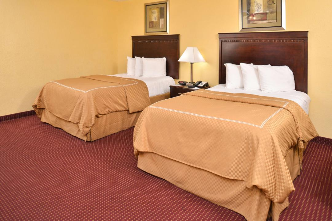 Two Double Beds