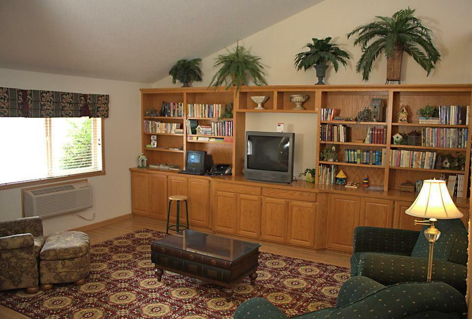 Hotel lobby and Front desk area