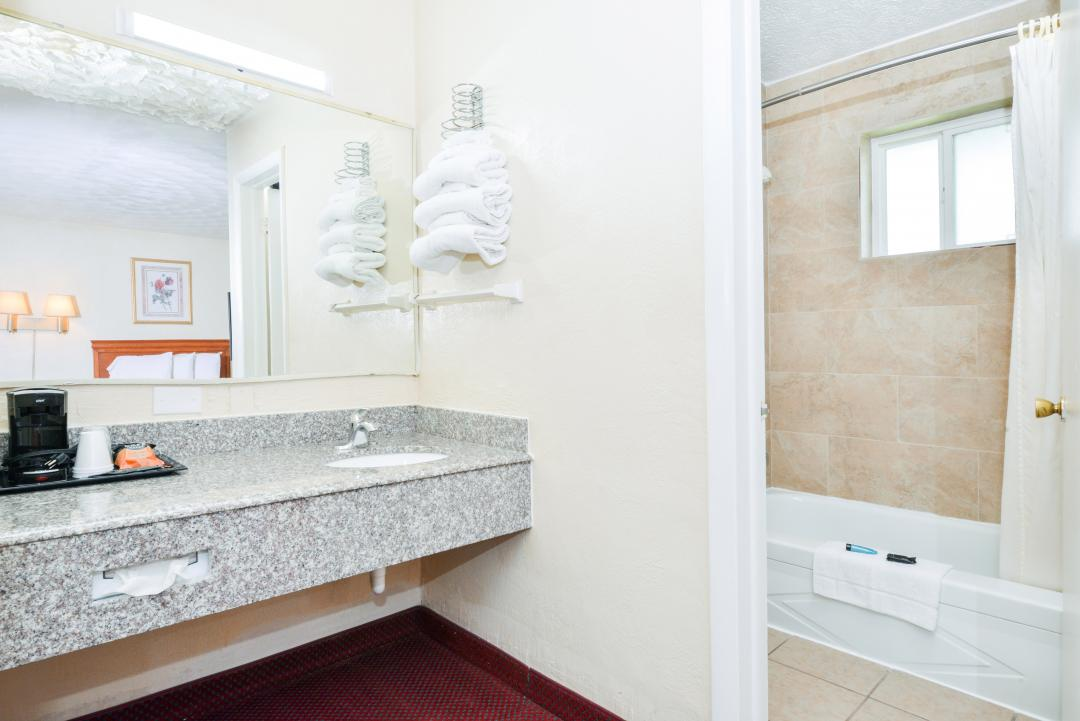 Spacious Bathroom in Guest Suite