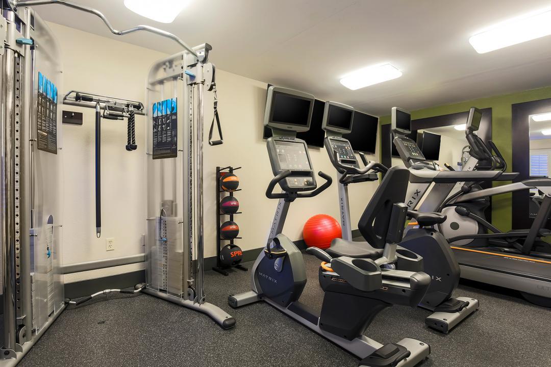 Enjoy Our Fitness Center