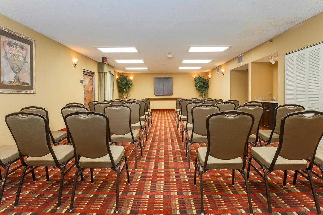 Hotel Conference Room Set Theater Style