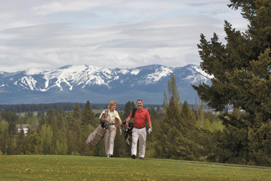 Kalispell Montana Golfing