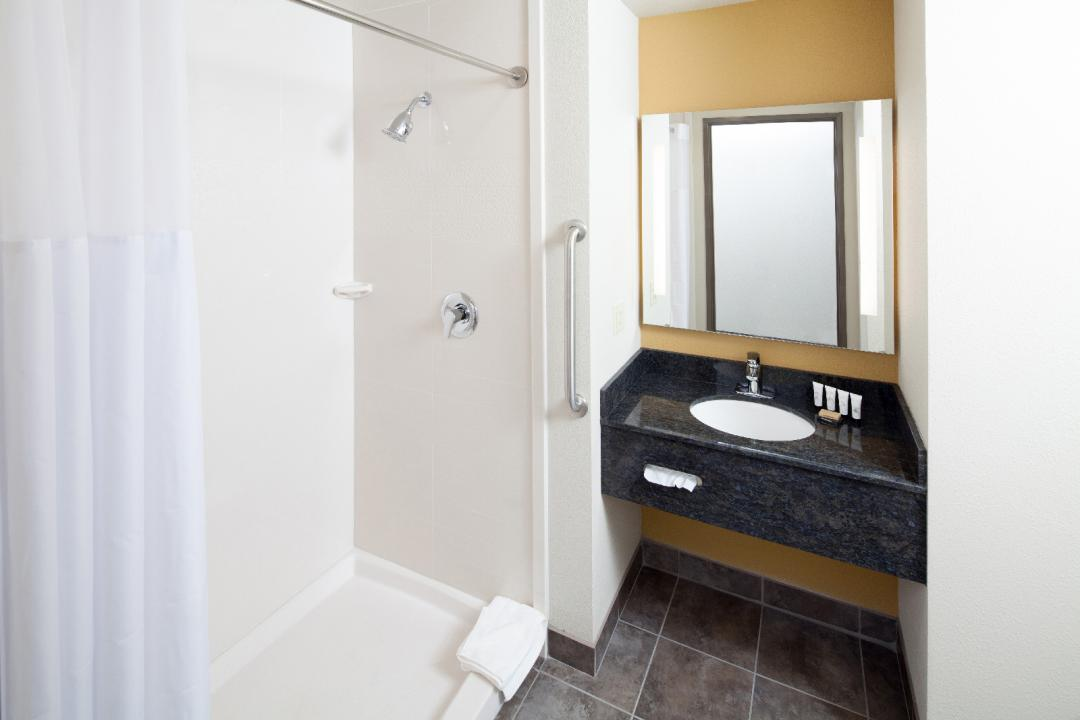 Guest Bath with Stand Up Shower