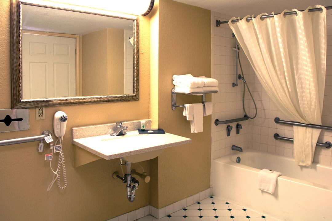 Accessible Guest Bathroom