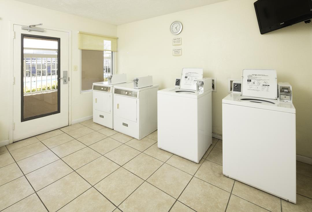 spacious Guest Laundry Facilities