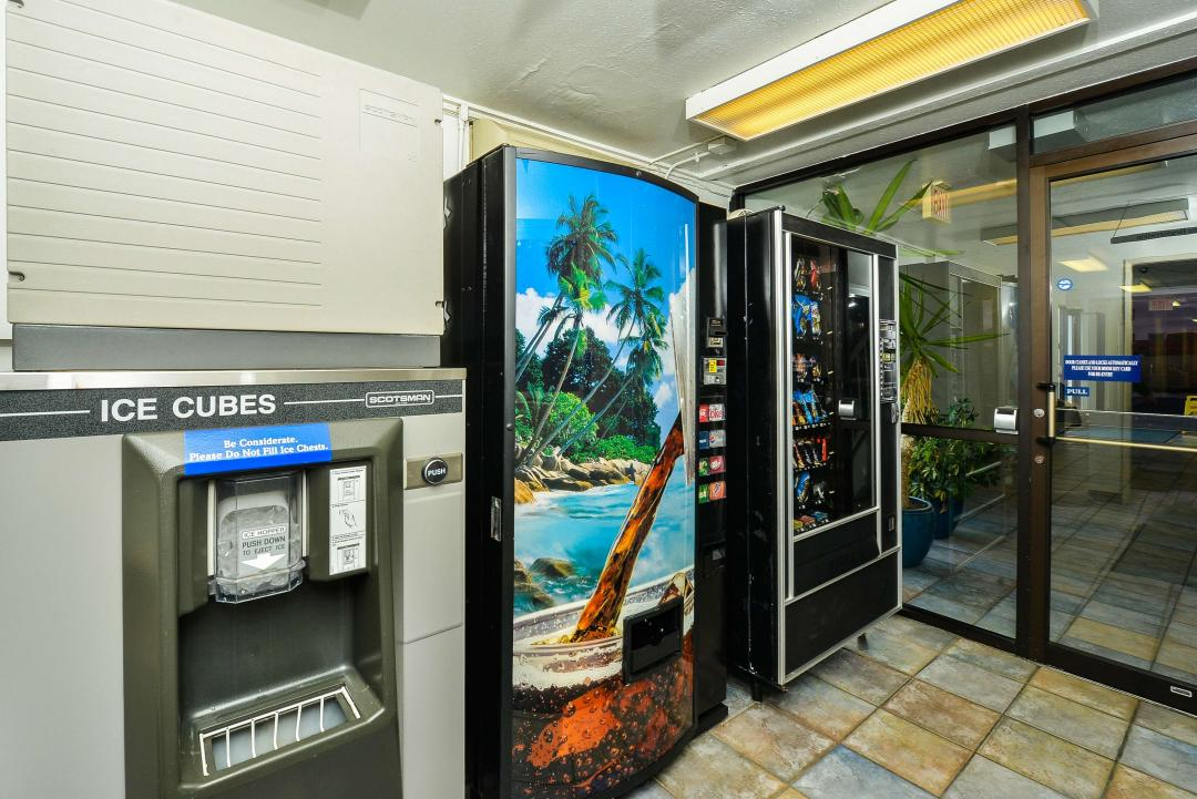 Ice and Vending Machines