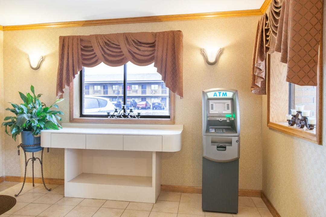 ATM available in lobby