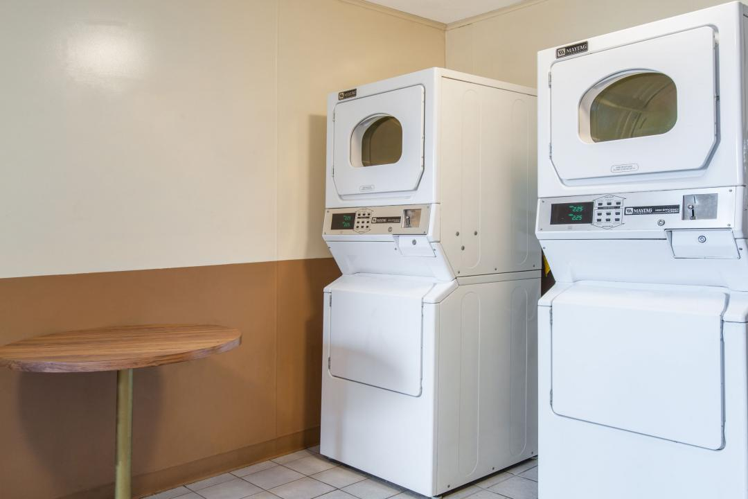 Guest Laundry Facility with washer and dryer