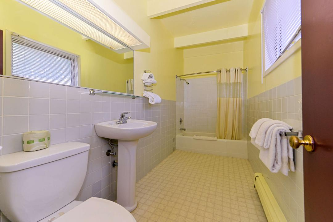 Three Doubles Guest Bathroom