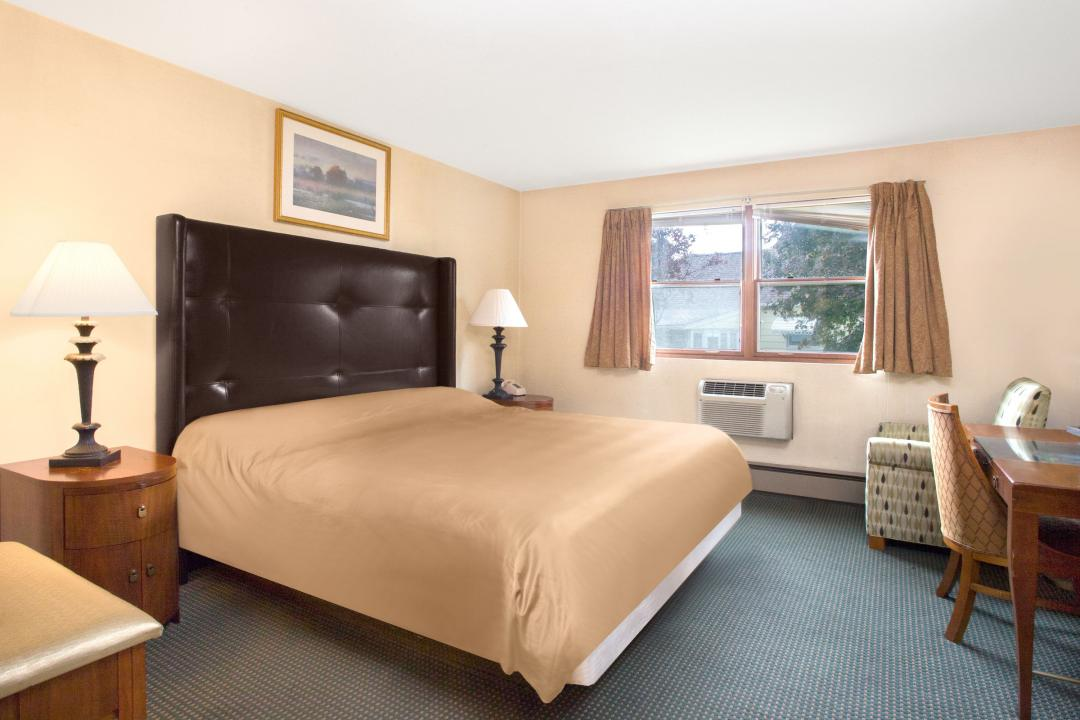 Spacious One King bed guest room with sitting area