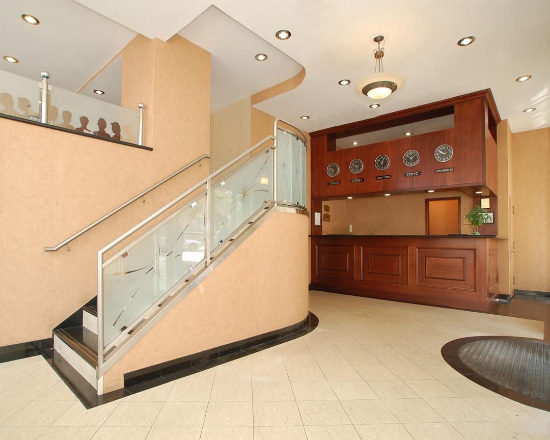 Lobby and Front Desk Reception