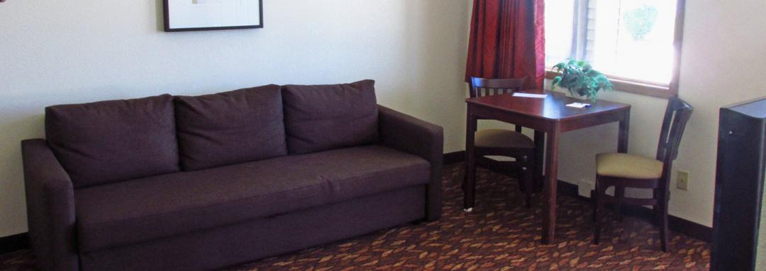 Guest Room with Pullout Sofa