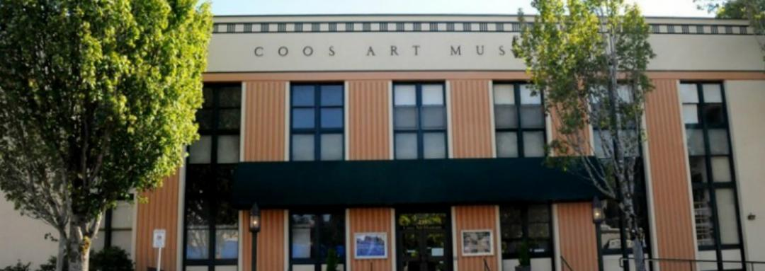 Exterior view of Coos Art Museum building
