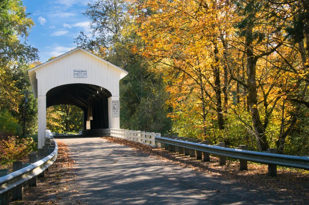 Covered Bridge in Eugene OR