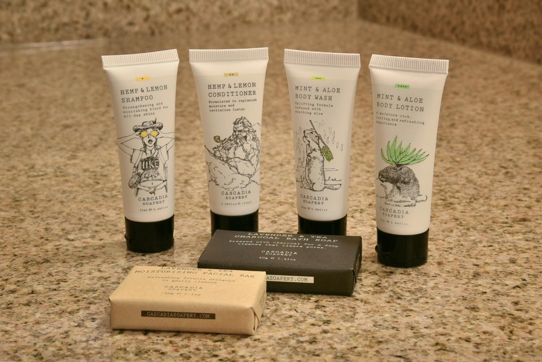 Cascadia Bath Products at Red Lion Inn & Suites Eugene
