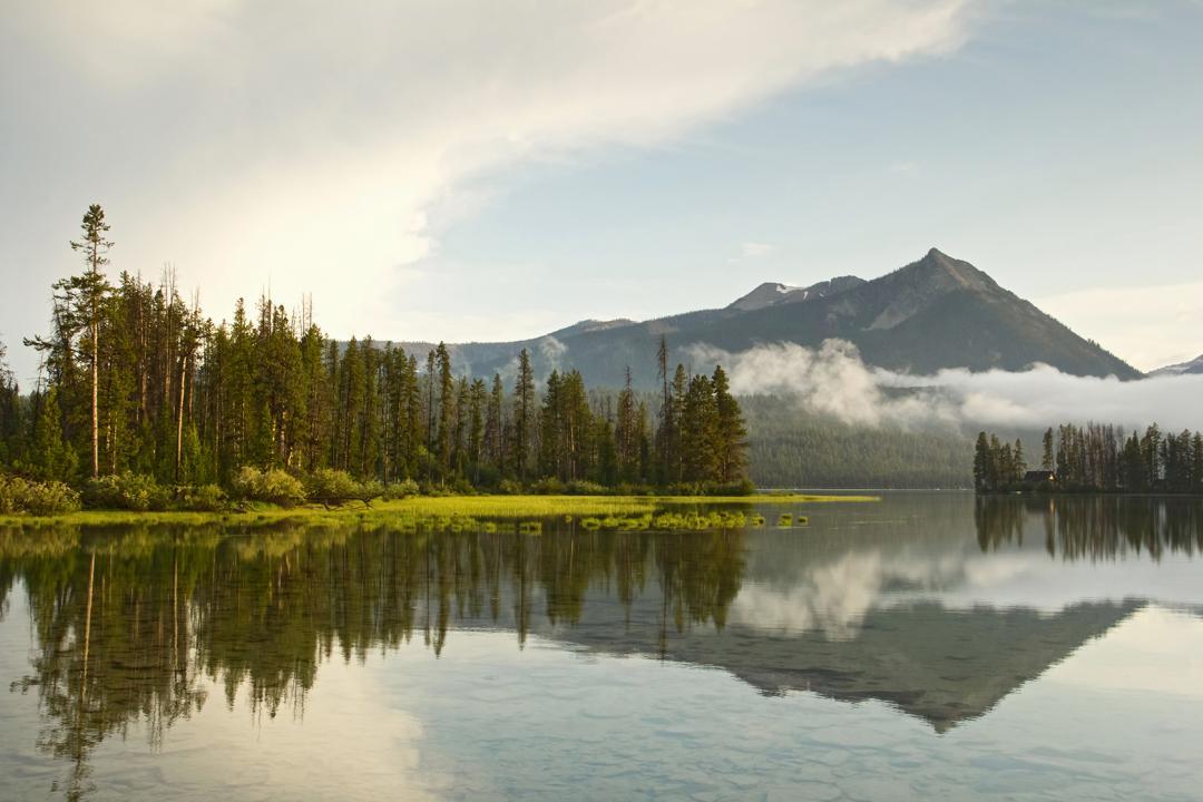 McDonald Peak near Lake Stanley Idaho