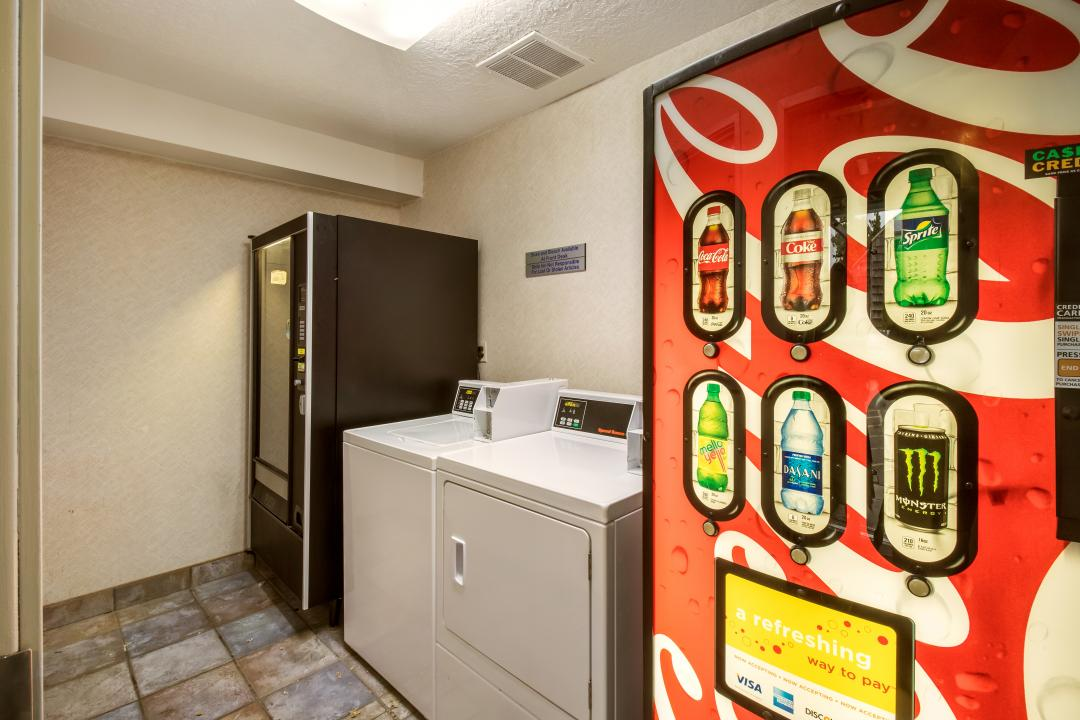 Vending machine and Laundry room