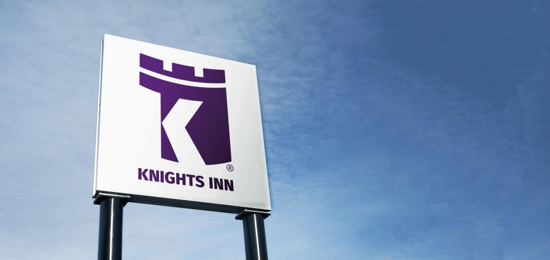 Hotel exterior sign