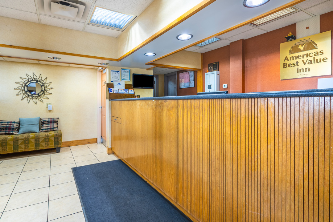 Lobby and Front Desk Area