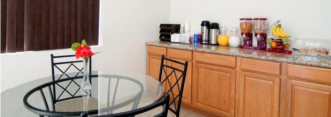 Breakfast Area with Table