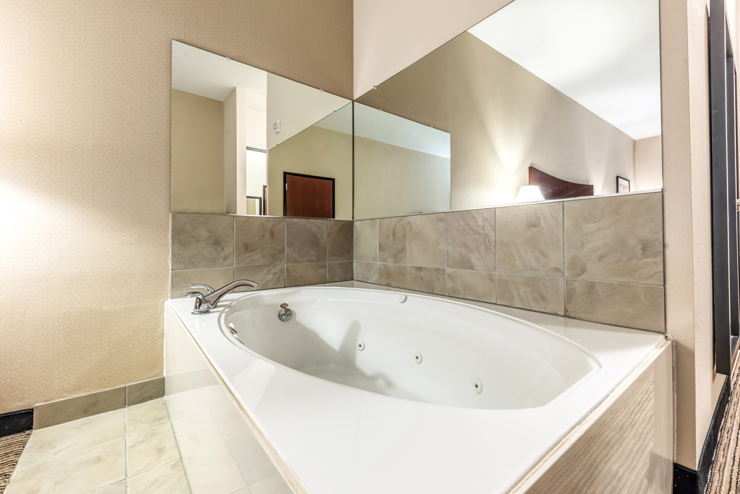 In-room Jetted Tub