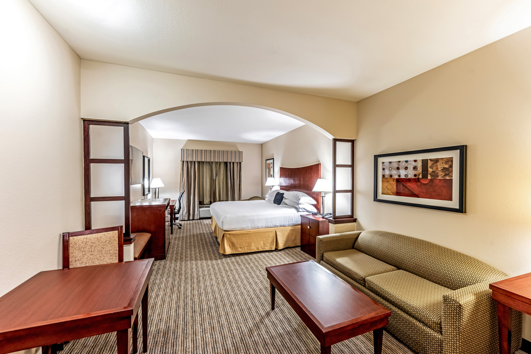 Spacious One King Suite with sitting area