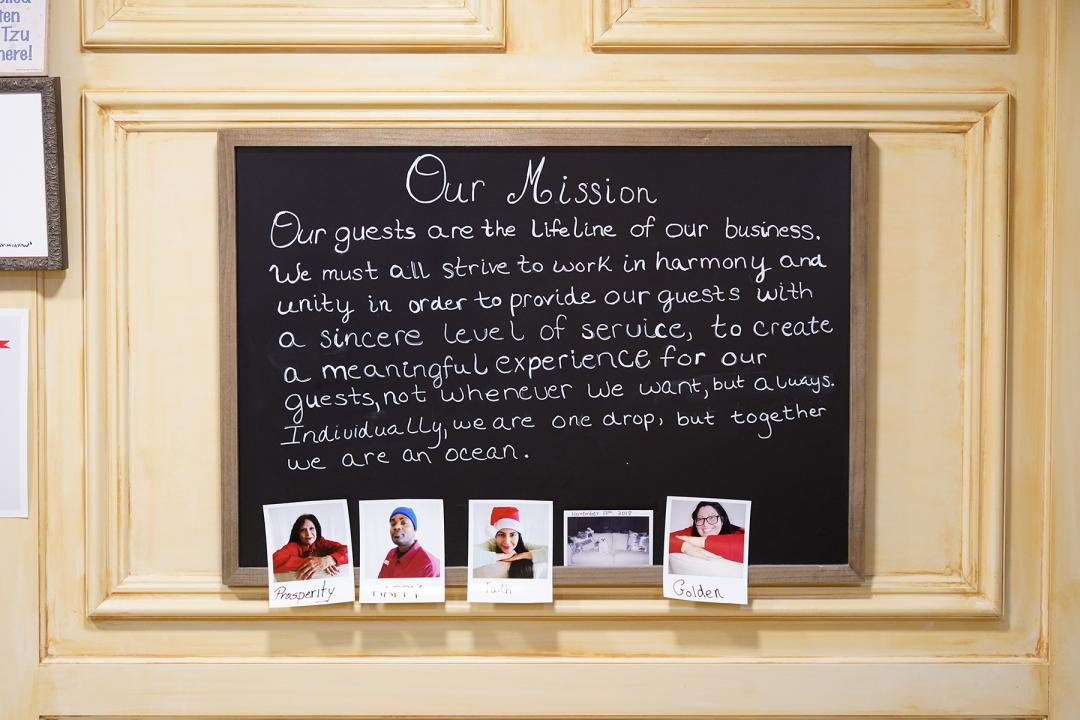 Hotel Mission Statement