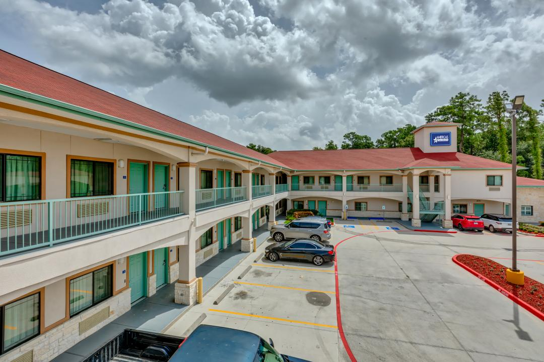 Exterior view of hotel