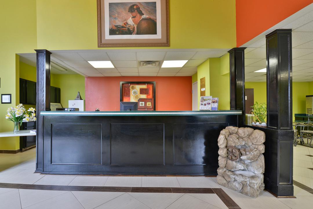 Front Desk and Reception
