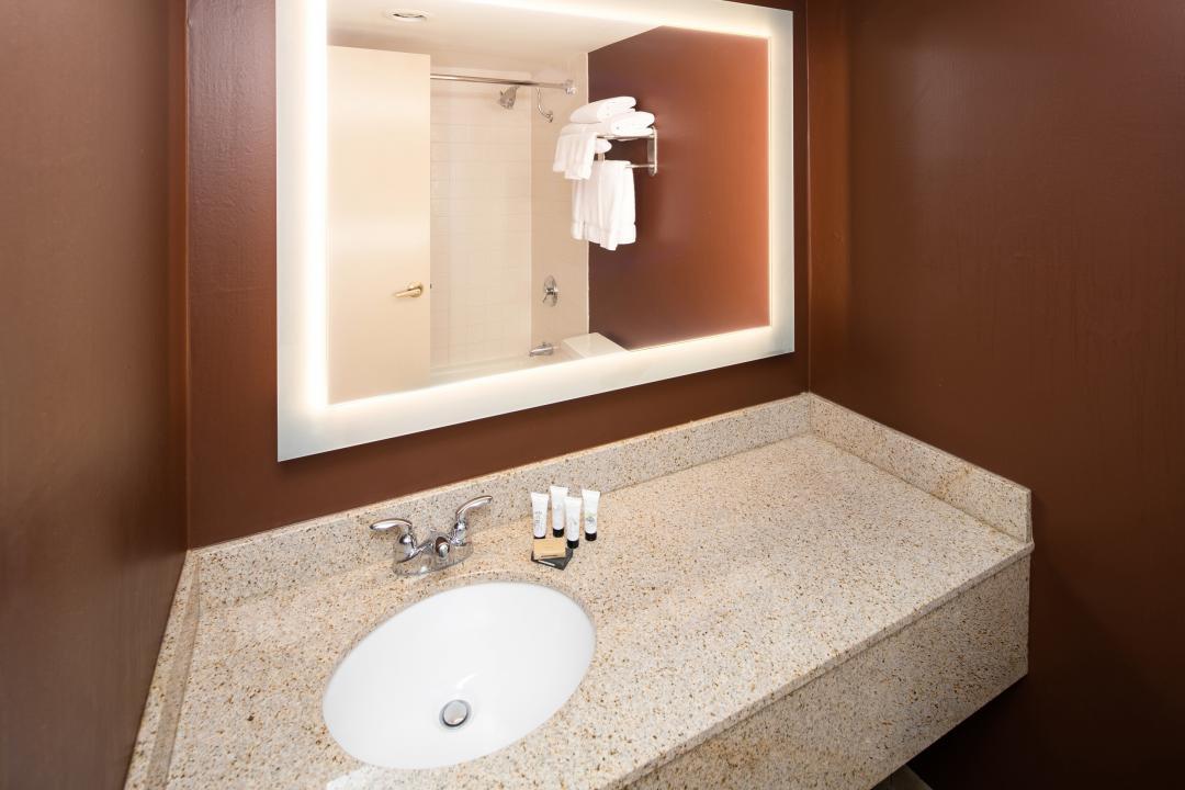 Hotel RL Guest bathroom