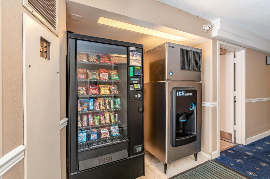 Hotel vending machines