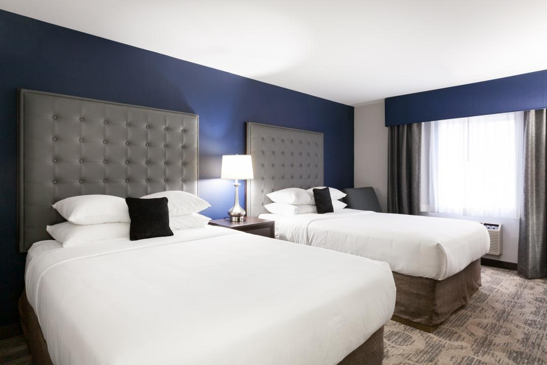 Two Double Queen Guestroom