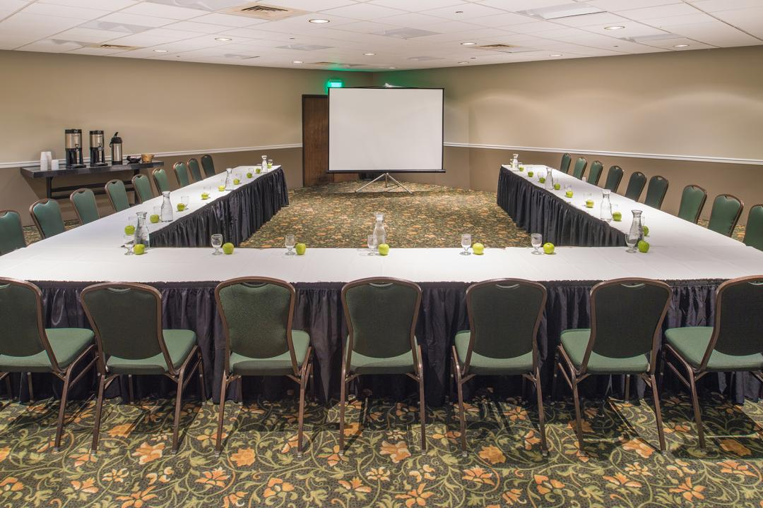 Onsite event space can accommodate your meeting